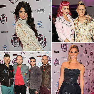Celebrity Red Carpet Pictures at 2011 MTV Europe Music Awards EMAs