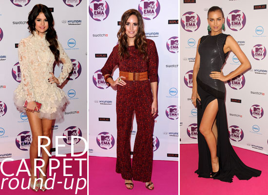 2011 MTV Europe Music Awards: All the Red Carpet Action!