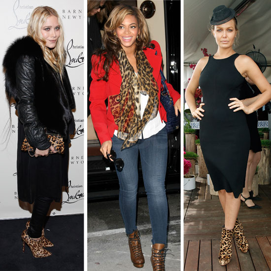 Celebrity Accessory Report: Luxe Feline Touches