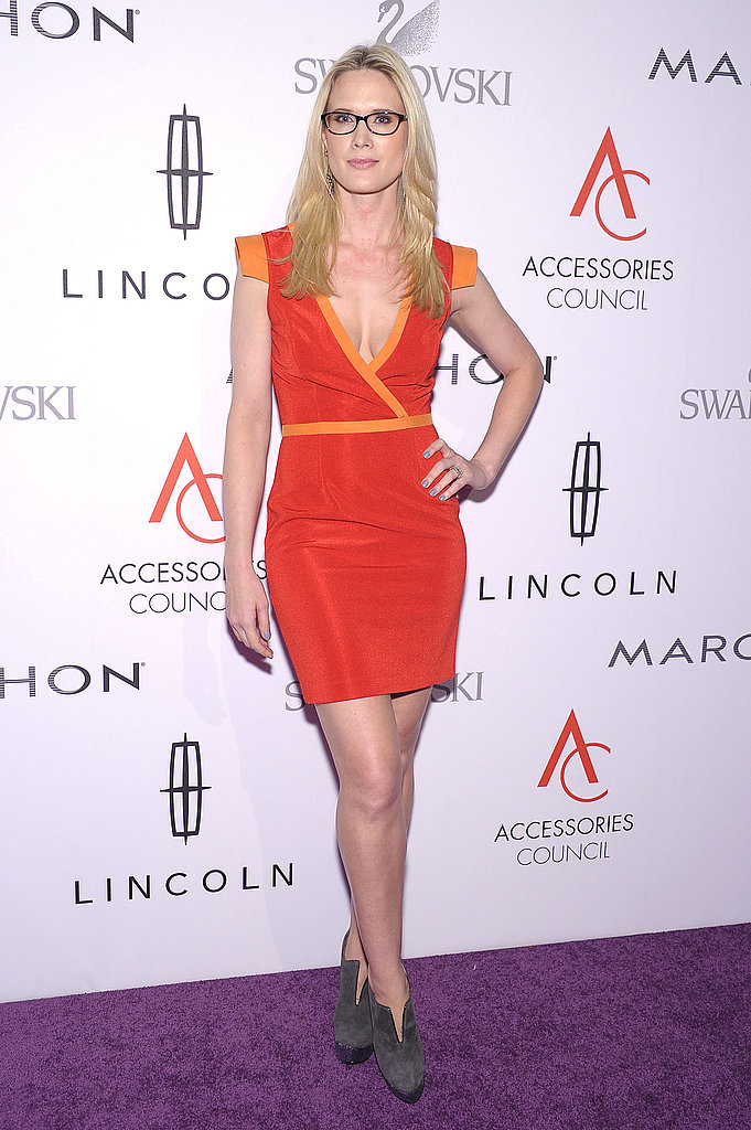 Stephanie March wore glasses to the 15th annual ACE Awards.