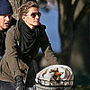 Gisele Bundchen and Tom Brady Biking in Boston Pictures