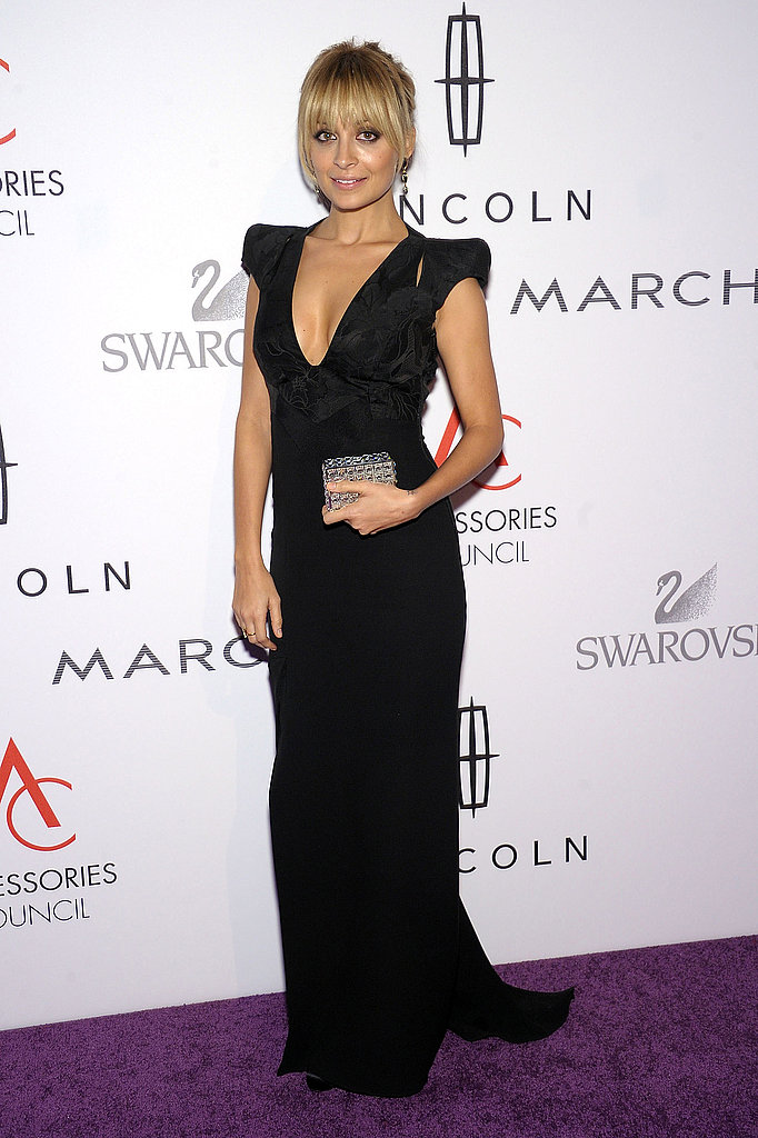 Nicole Richie looked long and lean on the red carpet.