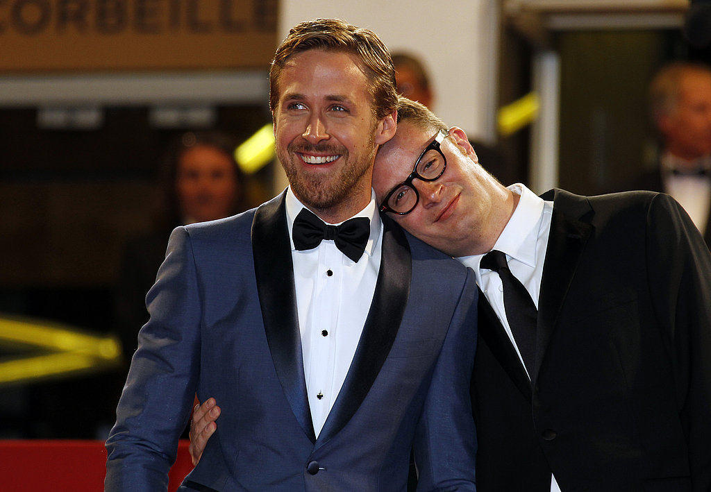 A bow tie-clad Ryan and Drive director Nicolas Winding Refn shared a sweet moment at the movie's premiere at the Cannes Film Festival in 2011.