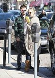 Kate Hudson and Matt Bellamy went shopping in LA.