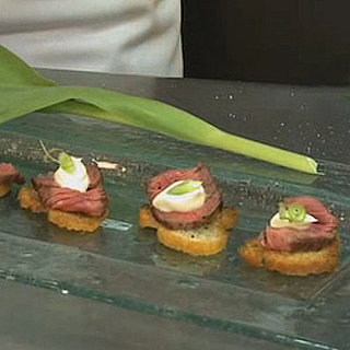 Filet Mignon Crostini Recipe