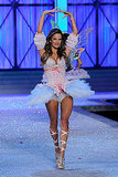 Alessandra Ambrosio played the part of prima ballerina for the 2011 Victoria's Secret Fashion Show.