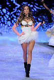 Alessandra Ambrosio walked the runway for the 2011 Victoria's Secret Fashion Show.
