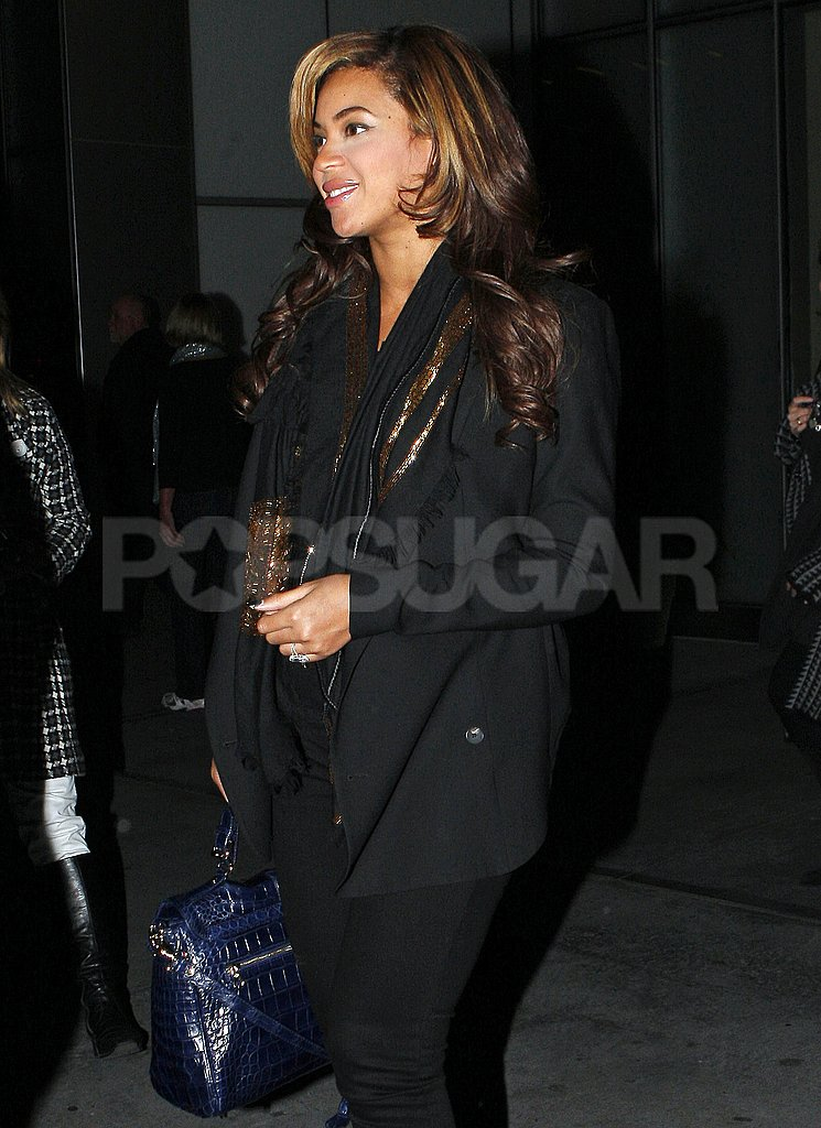 Beyoncé Knowles ran errands in NYC.