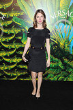 Sofia Coppola at the Versace for H&M show.