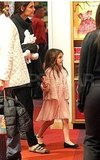 Katie Holmes and Suri Cruise kept their eyes peeled for a toy.