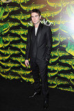 Chace Crawford made it out for the Versace for H&M fashion show.