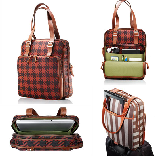 Plaid Doctrine Laptop Tote