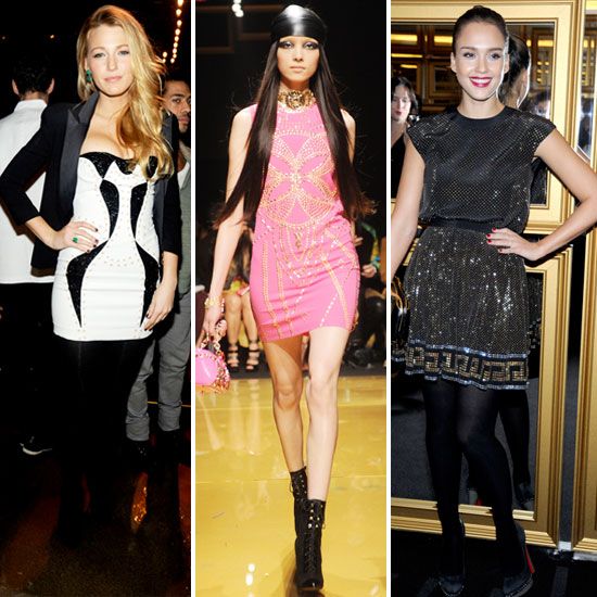 Versace For H&amp;M Fashion Show Plus Celebrity Photos