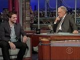 Robert Pattinson Breaking Dawn Interview on The Late Show with David Letterman