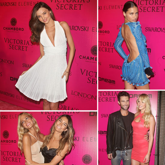 Miranda, Adriana, and the Angels Keep VS Celebration Going at the Afterparty