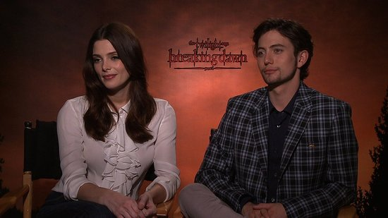 Video: Ashley Greene and Jackson Rathbone on Their Breaking Dawn Dance Off