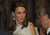 Kate Middleton at National Memorial Arboretum dinner in London.