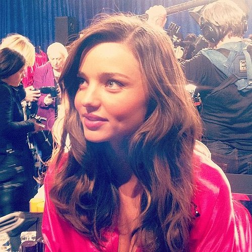 Backstage Twitter Pictures from the 2011 Victoria's Secret Runway Show With Miranda Kerr, Adriana Lima, Candice Swanepoel & More