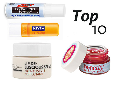 10 of the Best Lip Balms Containing SPF Sun Protection