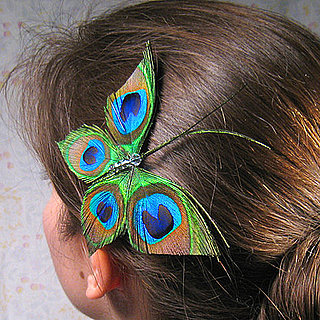 Peacock Hair Accessory From Etsy