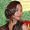 Zoe Saldana&#039;s Best Hairstyles