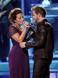Demi Lovato and Pablo Alboran did a duet.