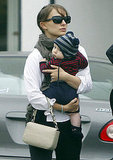 Natalie Portman shopped in LA with her son Aleph Millepied.