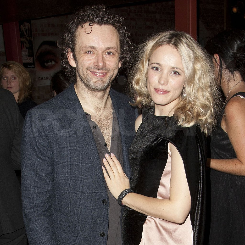 Rachel McAdams joined Michael Sheen at his Hamlet press night afterparty at the Young Vic Theatre in London on Wednesday night.