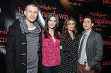 Charlie Bewley, Ashley Greene, Nikki Reed, and Jackson Rathbone in San Francisco.