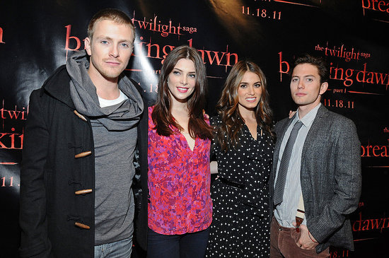 Nikki Reed, Ashley Greene, and Jackson Rathbone Stop in SF to Talk Twilight