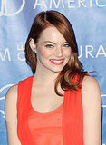 Emma Stone at the 2011 Museum of Natural History Gala.