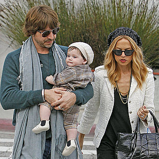 Rachel Zoe, Skyler, and Rodger Pictures in LA