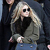 Ashley Olsen in NYC and Named Vogue's Best Dressed of 2011
