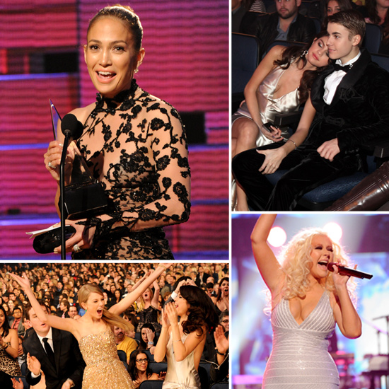 Taylor's Big Wins, Bieber Meets LMFAO, J Lo and Marc Reunited — All the Action From the AMAs!