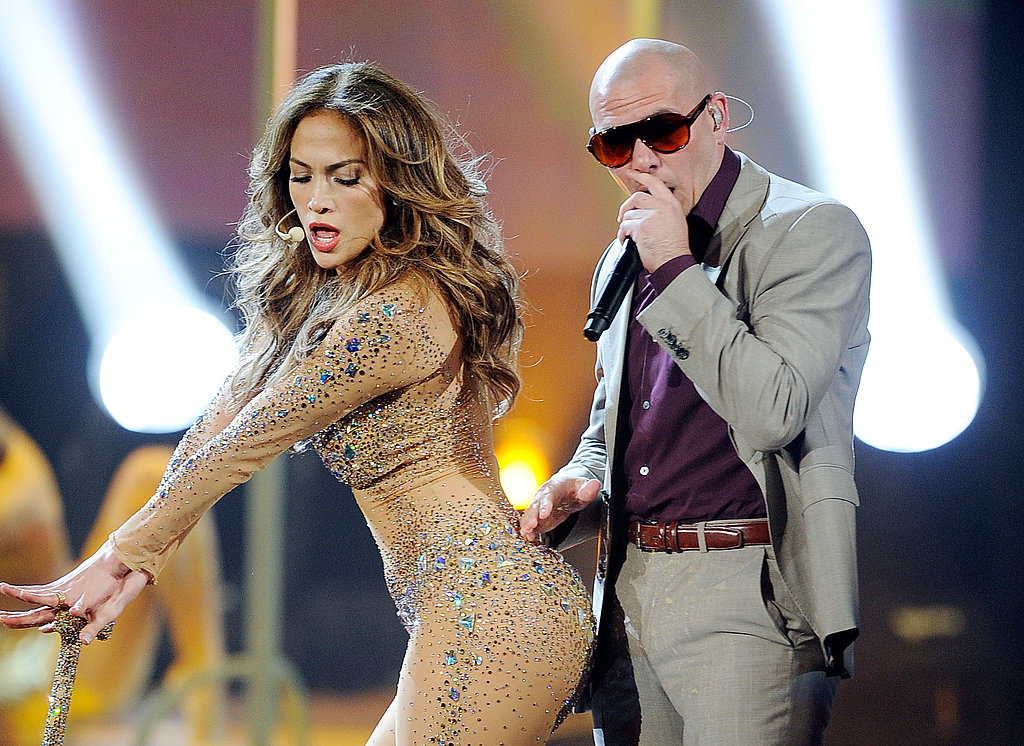 Jennifer Lopez showed off her fly girl moves.