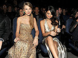 Taylor Swift and Selena Gomez sat next to each other at the American Music Awards.