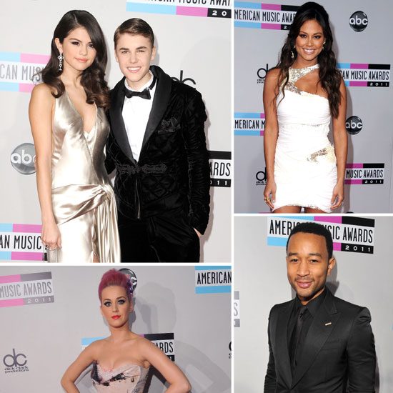 2011 American Music Awards: Stylish Stars on the Red Carpet!