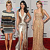Pictures of All the Ladies and Dresses on 2011 American Music Awards Red Carpet