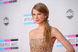 Taylor Swift wore a ponytail to the AMAs.