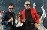 Marc Anthony and Pitbull danced at the American Music Awards.
