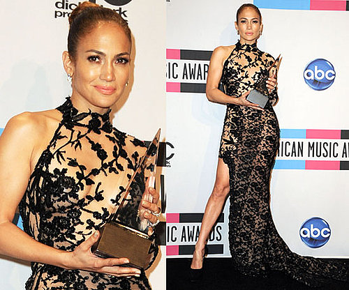 Jennifer Lopez at 2011 American Music Awards