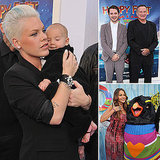 Pink Brings Baby Willow to the Happy Feet Two Premiere!