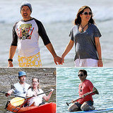 RDJ and His Pregnant Wife, Susan, Hit the Beach in Hawaii