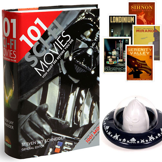 It Came From the Future: Gifts For Sci-Fi Geeks