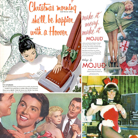 20 Bad Vintage Christmas Ads