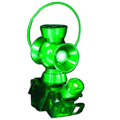 Green Lantern 1/4 Scale Power Battery & Ring Prop ($50)