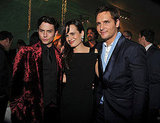 Peter Facinelli and Jackson Rathbone and Elizabeth Reaser were thrilled to celebrate the Breaking Dawn premiere in LA.