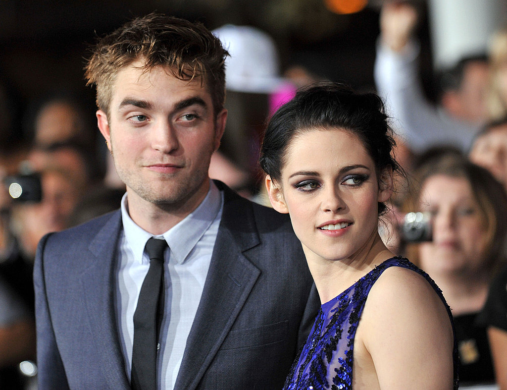 Adoring fans caught Robert Pattinson and Kristen Stewart's attention.