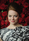Emma Stone arrived at MoMA's tribute to Pedro Almodovar.