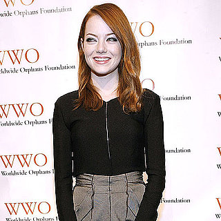 Emma Stone and Andrew Garfield Pictures at Orphans Gala